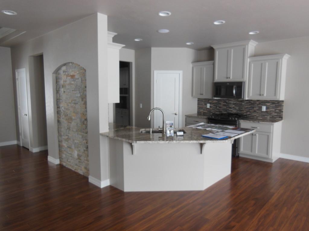 Model Home Kitchen 2015
