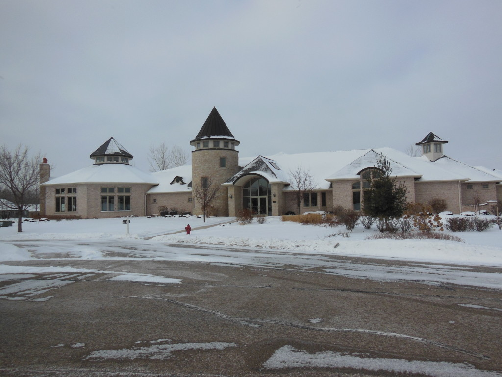 Exterior of Clubhouse
